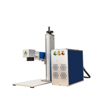 Split Fiber Marking Engraving Laser Machine