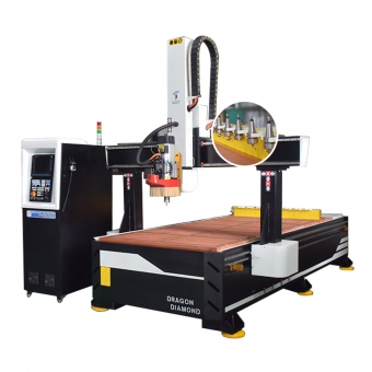ATC CNC Router Wood Carving Machine